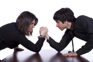 Мужчины против женщин